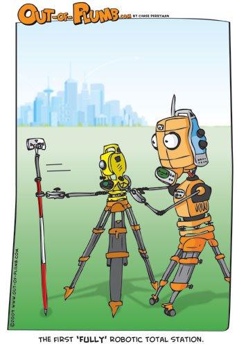 La verdadera estación total robótica