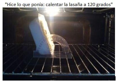 Lasaña120 grados
