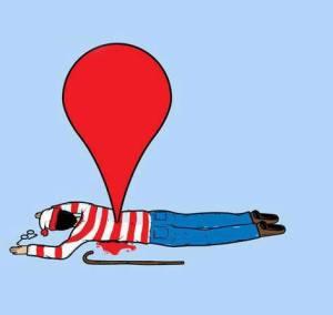 La Geolocalización, ha acabado con Wally.