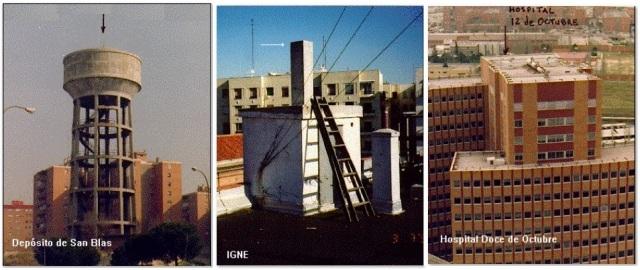 DepÓsito de San Blas. IGNE y Hospital Doce de Octubre