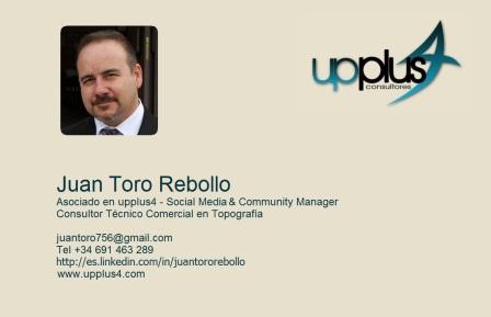 Tarjeta visita Juan Toro Upplus4