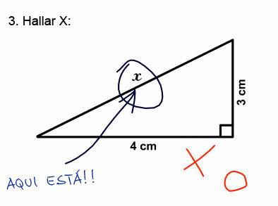 Calculo de la hipotenusa de un triángulo.