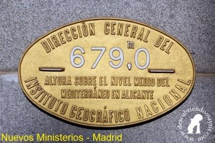 Placa Nivelación Nuevos Ministerios
