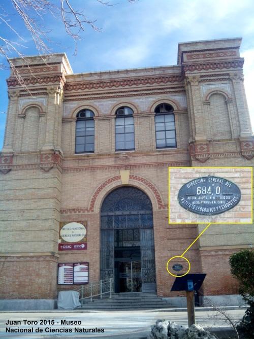 Placa Museo Ciencias Naturales