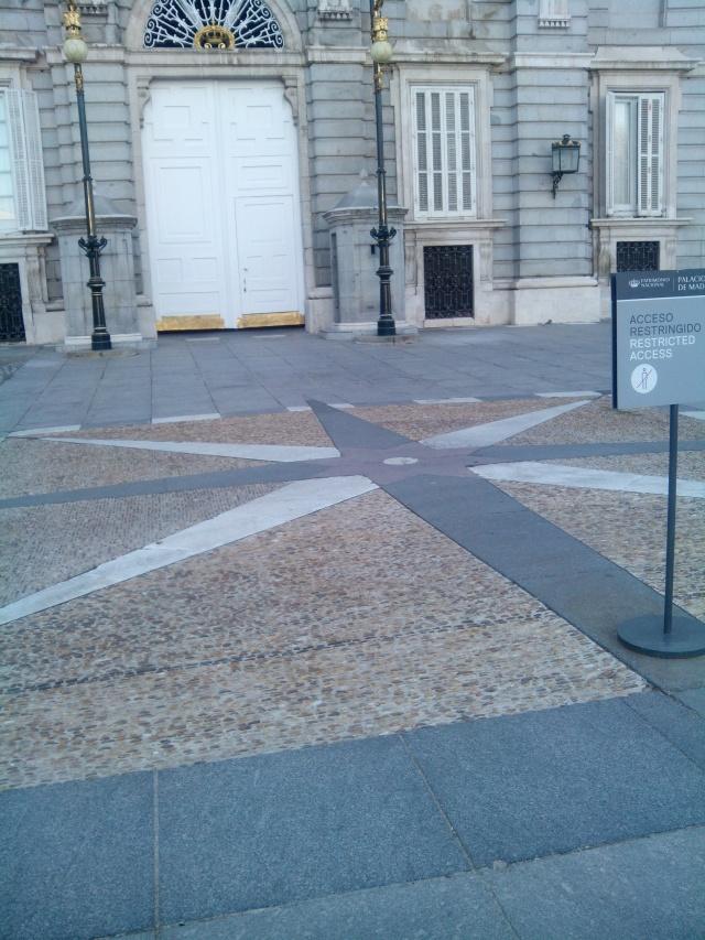[Reposición]Misteriosa curiosidad cartográfica en el Palacio Real de Madrid.